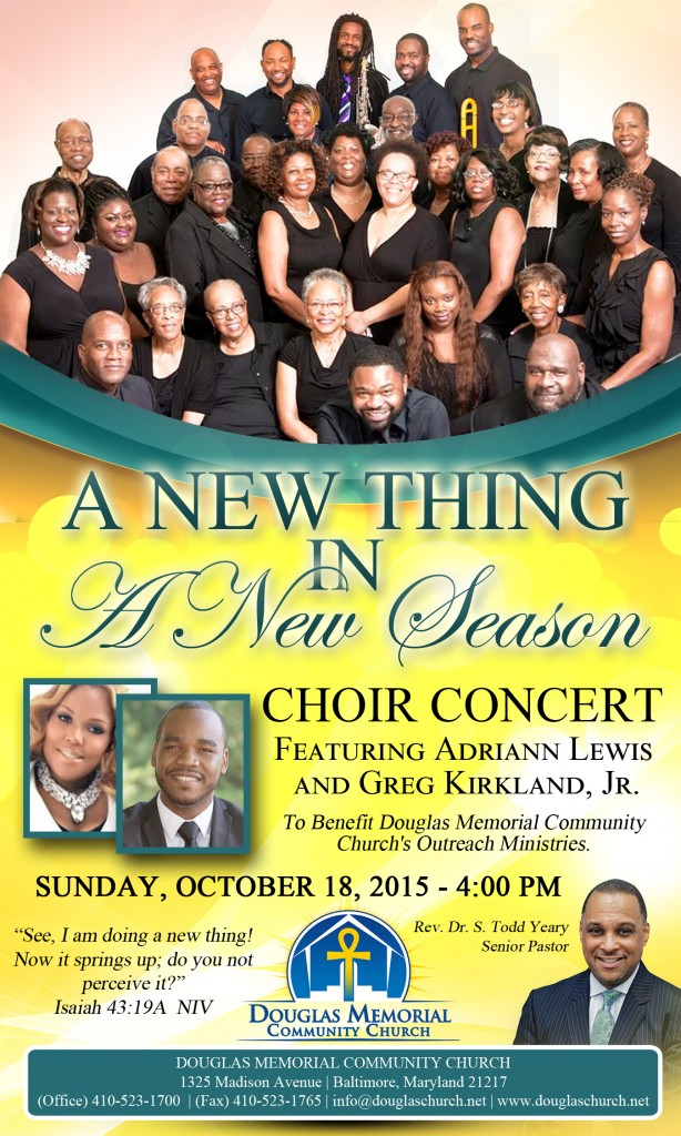 Flyer - Choir Concert - Power Magazine 2015 B